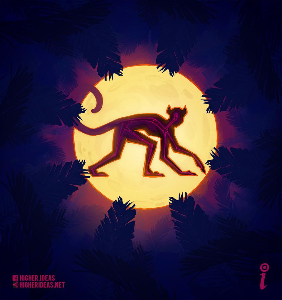 Spirit Monkey Moon Ayahuasca Higher Ideas Podcast